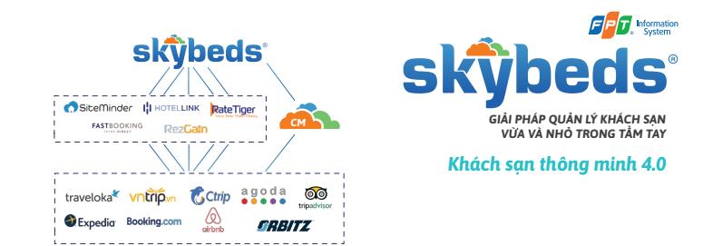 Skybeds - Giải pháp quản lý khách sạn
