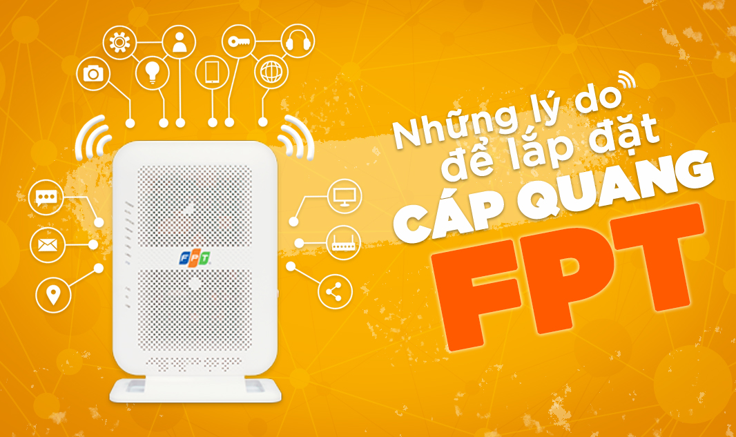 dịch vụ Lắp đặt mạng FPT nhanh